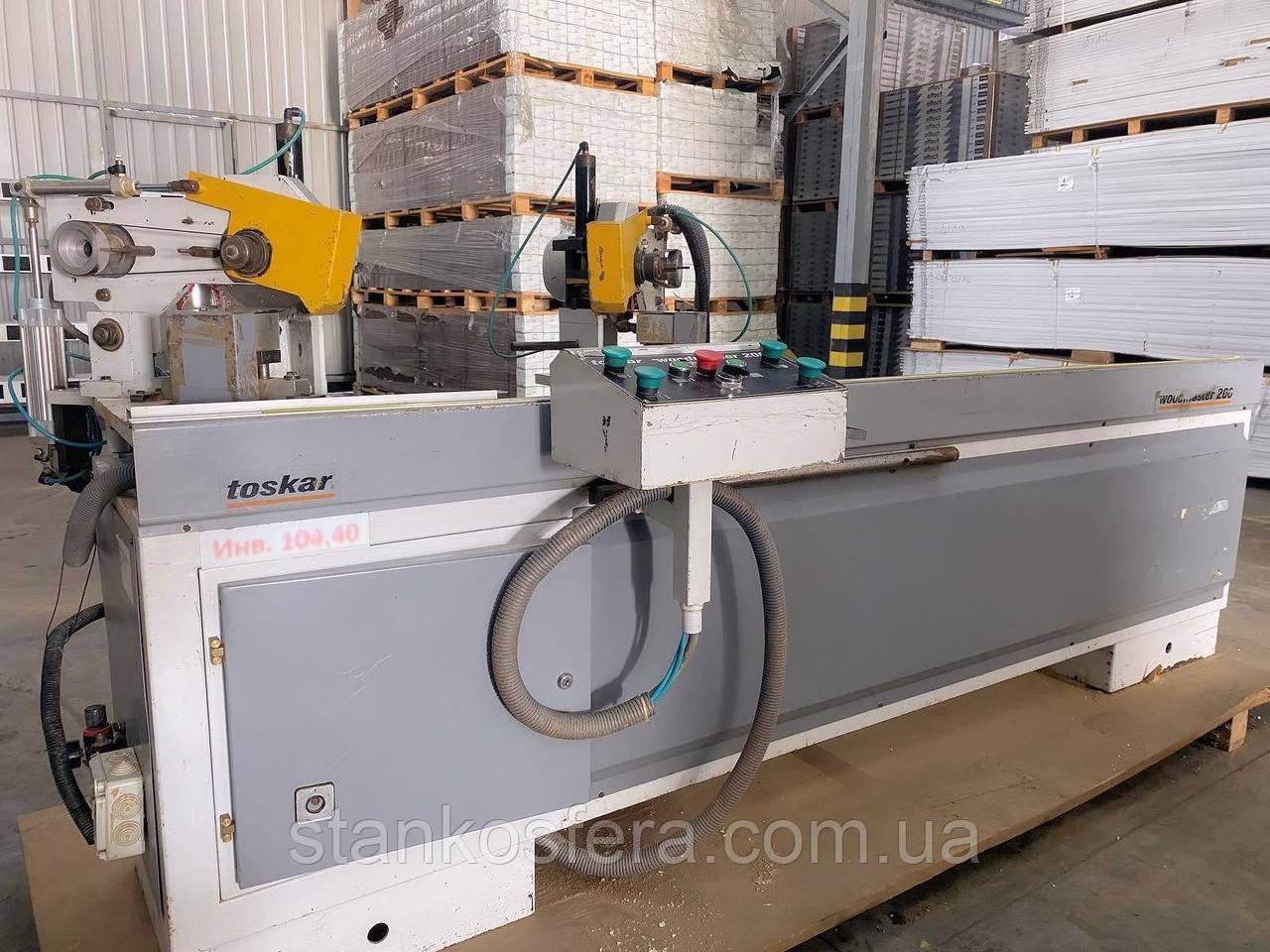 Усозарезной станок бу Woodmaster 200 для пиления и пазования профиля МДФ