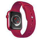Смарт часы Apl Watch Series 6 M441, 100% копия 44mm Aluminium, беспроводная зарядка, умные часы цвет red, фото 2