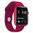 Смарт часы Apl Watch Series 6 M441, 100% копия 44mm Aluminium, беспроводная зарядка, умные часы цвет red, фото 3