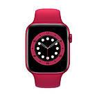 Смарт часы Apl Watch Series 6 M441, 100% копия 44mm Aluminium, беспроводная зарядка, умные часы цвет red, фото 4