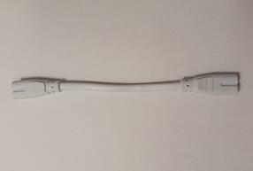 Соединительный шнур для светильников Т5 SL946 белый (коннектор+провод+коннектор) Код.58845