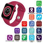 Смарт часы Apl Watch Series 6 M441, 100% копия 44mm Aluminium, беспроводная зарядка, умные часы цвет red, фото 6