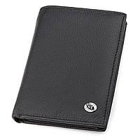Чоловічий гаманець ST Leather 18350 (ST-2) Чорний, Чорний, фото 1