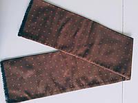 Мужской   шелковый шарф  с  рисунком   Kapriz