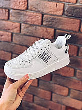 Белые кроссовки унисекс в стиле Air Force 1 '07 Lv8 Utility White