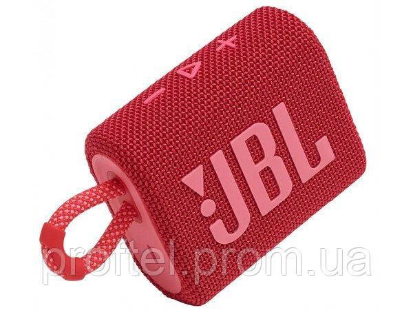 Портативна акустика JBL GO 3 Red