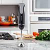 Блендер ручной Kamille со стаканом Черный 400W 38см KM-6745, фото 10