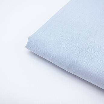 Польская хлопковая ткань светло голубая 160 см