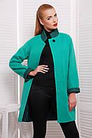 Женское пальто oversize 40% шерсть, фото 1