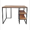 Письменный стол с полками в стиле Лофт 1100х700х770, СП01