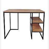 Письменный стол с полками в стиле Лофт 1100х700х770, СП01, фото 1