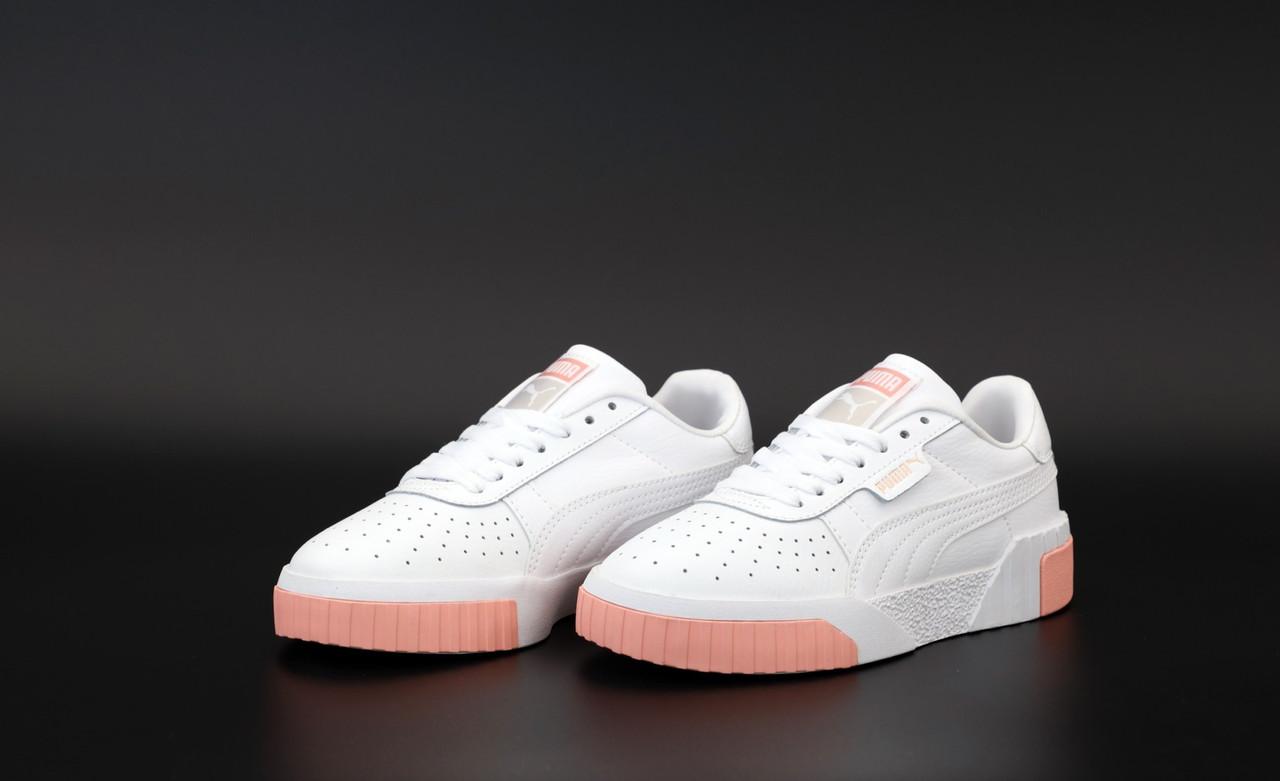 Жіночі білі Кросівки Puma Cali White