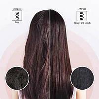 Гребінець-випрямляч для випрямлення і завивки в домашніх умовах Hair Straightener HQT-908/909 (WN-05) (40), фото 4