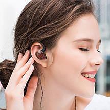 Гібридні навушники KZ ES4 з подвійними драйверами (Чорний), фото 3