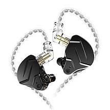 Гібридні навушники KZ ZSN Pro X з мікрофоном (Чорний), фото 3