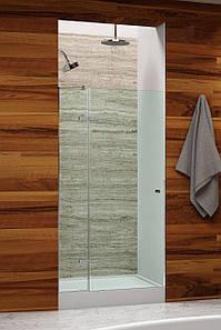Душевые двери Andora Just 90х200, профильная система, сатин
