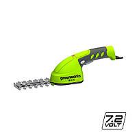 Ножиці садові акумуляторні Greenworks G7.2GS (7.2 В, 2 А*год, 100 мм)