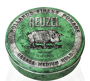 Воск Reuzel Green Medium Hold Grease 340ml