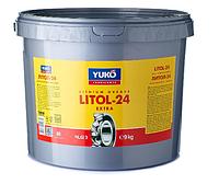 Пластична змазка Юкойл ЛІТОЛ-24 (9 кг) YUKOIL