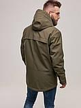 Куртка чоловіча Riccardo D-02 ХАКІ 100% поліестер 48(Р), фото 3