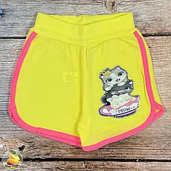 Дитячі шорти для дівчинки Розміри: 5,6,7,8 років (01542-1)