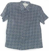 Стильная рубашка хлопок - шелк, фото 1