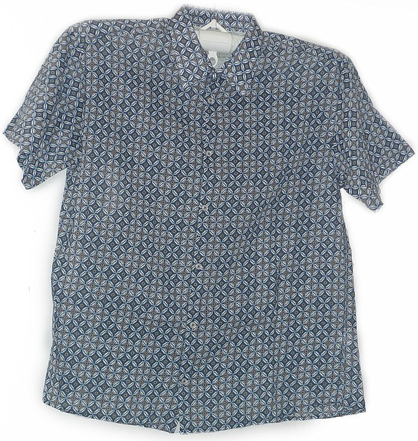 Стильная рубашка хлопок - шелк