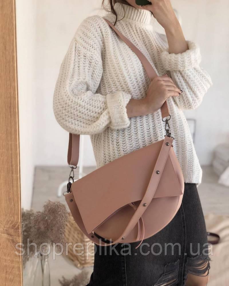 Сумка женская пудра седло пудровые сумки новинка модный с широким ремешком кроссбоди Rqf3