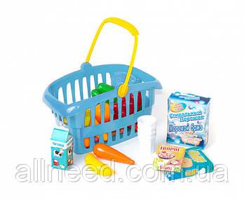 """Корзинка """"Супермаркет"""" 362B2 (Синій)"""
