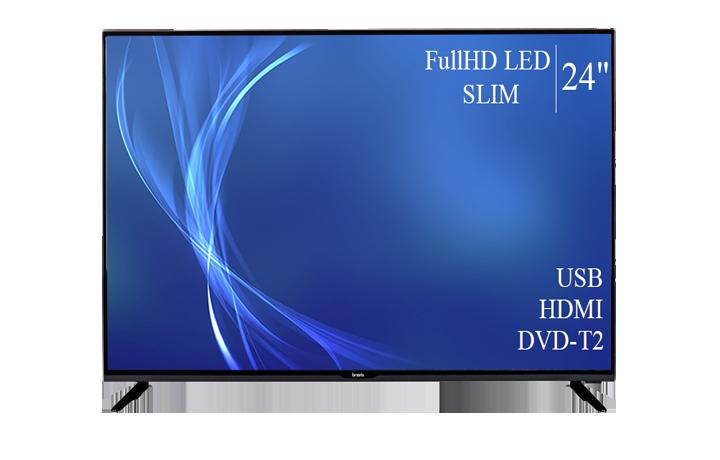 """Сучасний Телевізор Bravis 24"""" FullHD T2 USB Гарантія 1 РІК!"""