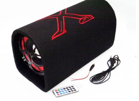 "Сабвуфер бочка в машину Xplod 8"" 500Вт (Bluetooth)"