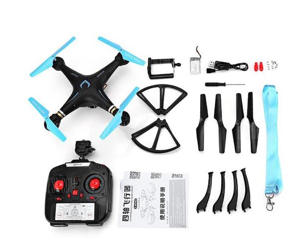 Квадрокоптер з Wi-Fi-камерою DM98 DRONE