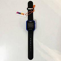 Часы наручные SKMEI с LED дисплеем. Цвет: синий, фото 3