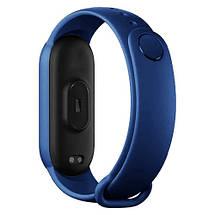 Фитнес браслет Smart Watch M5 Band Classic Black смарт часы-трекер. Цвет: синий, фото 3
