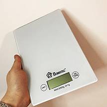 Ваги кухонні DOMOTEC MS-912 Glass. Колір: білий, фото 2