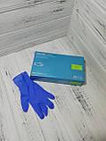Перчатки нитриловые Nitrylex Classic без пудры 100шт L, фото 2