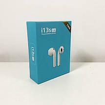 Беспроводные bluetooth наушники i13S ProStar 5.0 с кейсом. Цвет: зеленый, фото 3