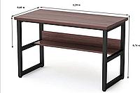 Письмовий стіл з поличками Лофт 1200х600х750, СП03