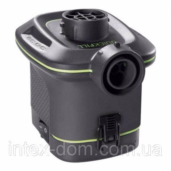 Електричний насос для надування Intex 66638 (на батарейках, 420 л/хв)