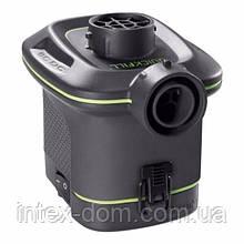 Электрический насос для надувания Intex 66638 (на батарейках, 420 л/мин)