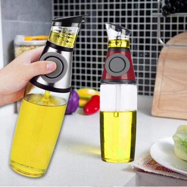 Дозатор для олії та оцту FRU-123. Колір: червоний