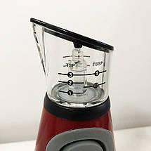 Дозатор для олії та оцту FRU-123. Колір: червоний, фото 3