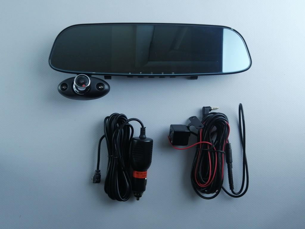 Відеореєстратор дзеркало з камерою заднього виду Touch HD Driving G15 Recorder Full HD 1920x1080p