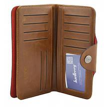 Чоловіче портмоне Baellerry Genuine Leather COK10. Колір: бежевий, фото 3
