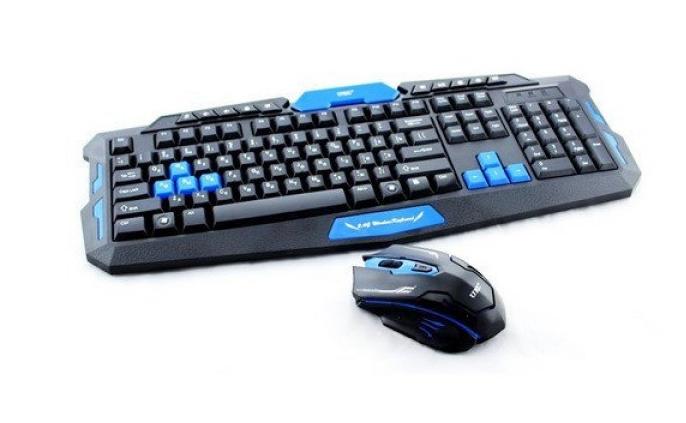 Комплект беспроводной клавиатуры с мышью HK-8100