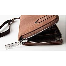 Мужское портмоне Baellerry Denim S1514. Цвет: коричневый, фото 3