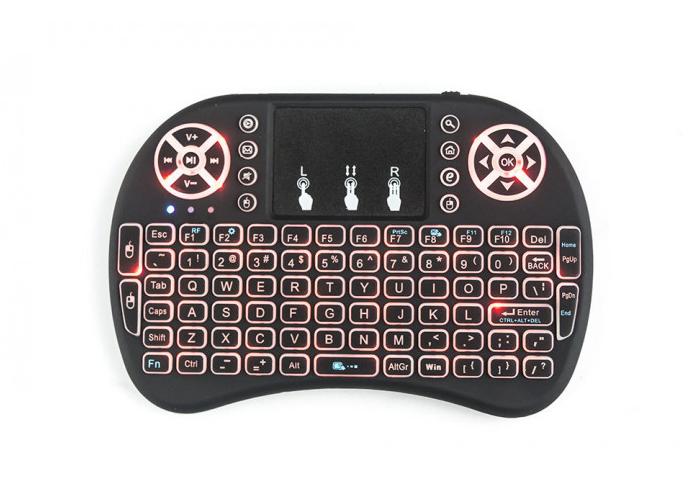 Мини клавиатура с тачпадом с подсветкой RT-MWK08