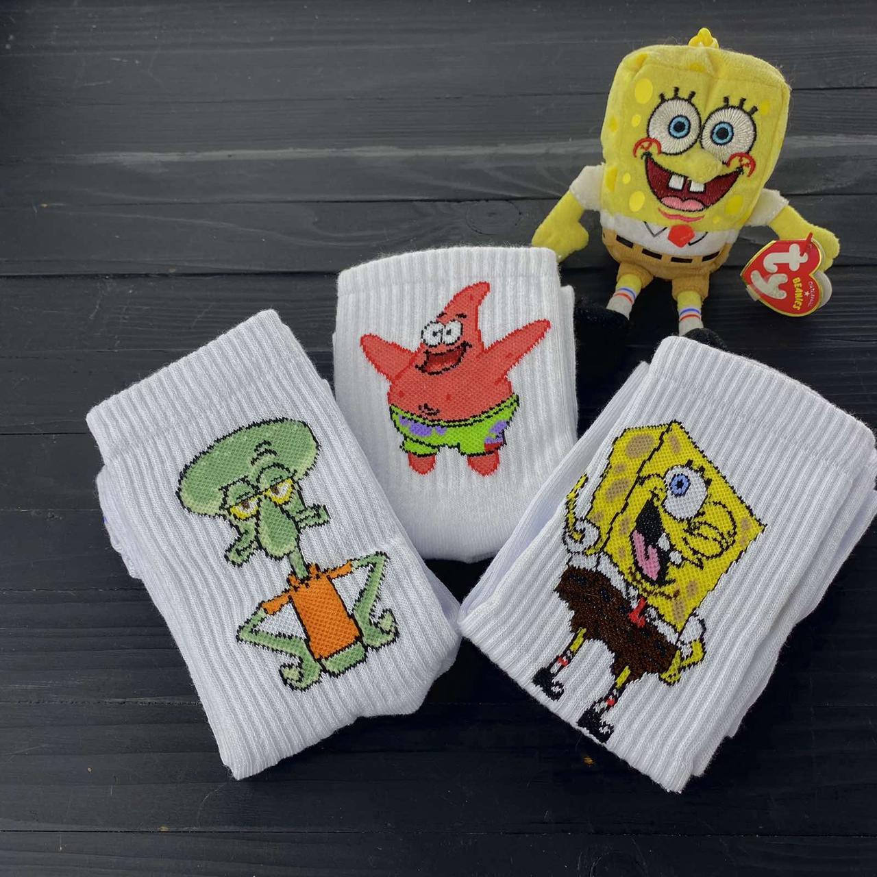 Набор мужских носков Спанч Боб