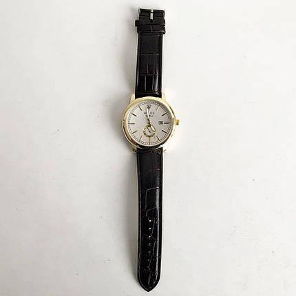 Годинники наручні Rolex White коричневий ремінець, фото 2