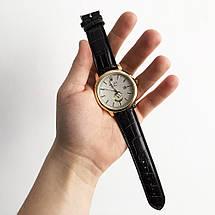 Годинники наручні Rolex White коричневий ремінець, фото 3